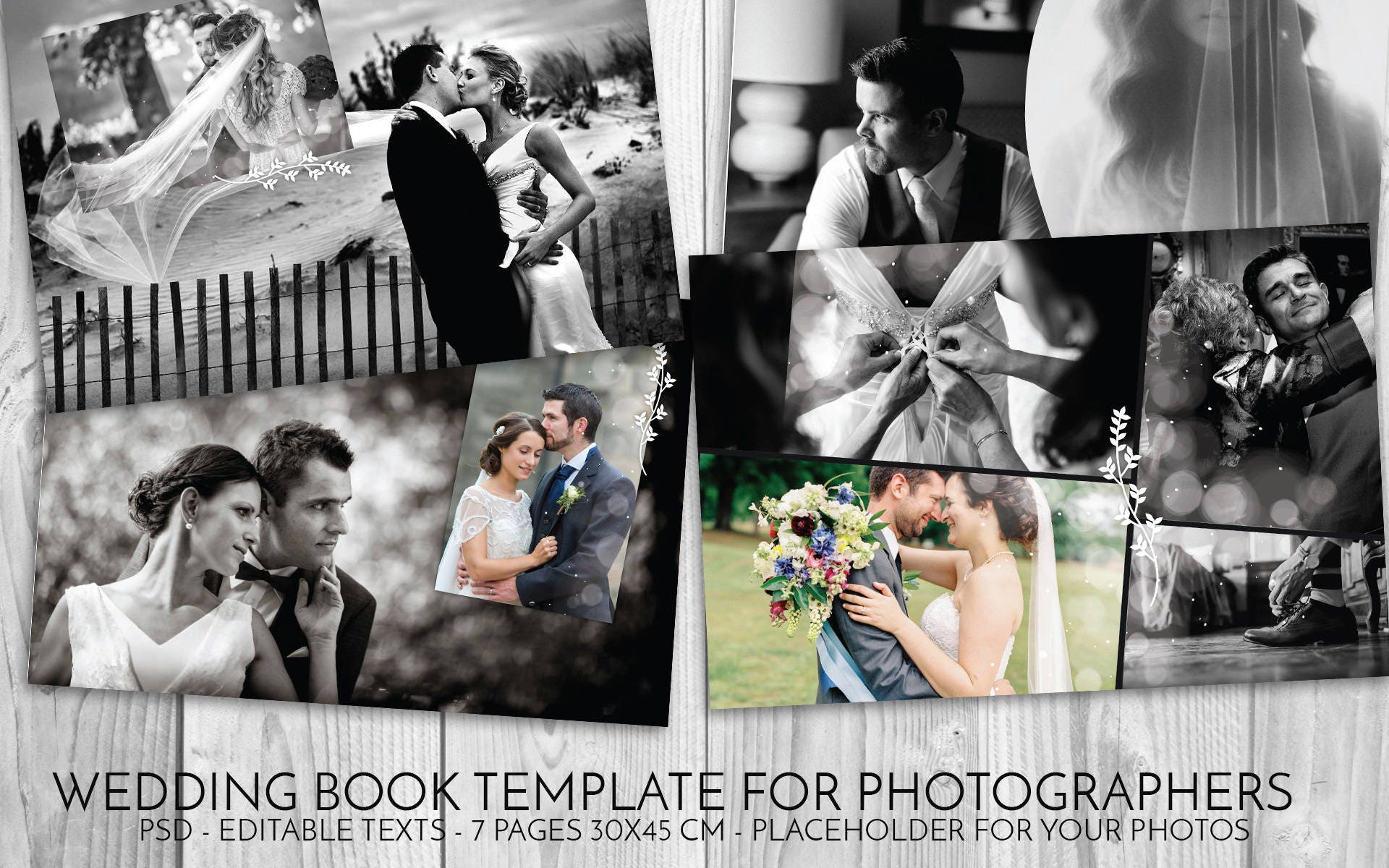 Hochzeit Vorlage Psd Hochzeit Buch Photoshop Vorlage für