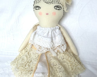 Vintage-Style Ragdoll - Gifts for Women - Nursery Decor Girls - Gifts for Girls - Home Decor Doll - Collectible Ragdoll