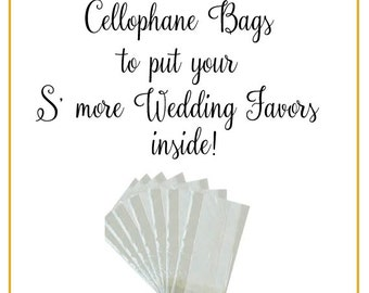 S'more Wedding Favors | Wedding Favor Tags | Smore Tags | Wedding Favor Tags | Smore Love