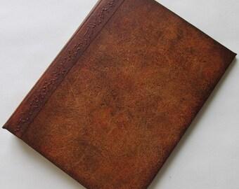 Handmade Refillable Journal Distressed Brown 8x6 Original travellers notebook