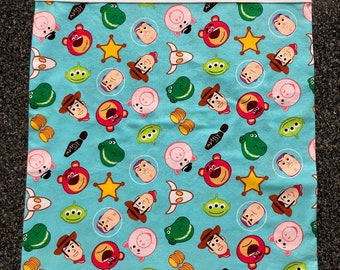 Pillowcase - Travel/Toddler - Toy Story (brown cuff)