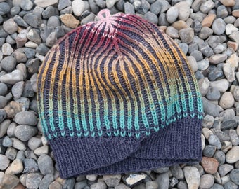Hat handknit size medium