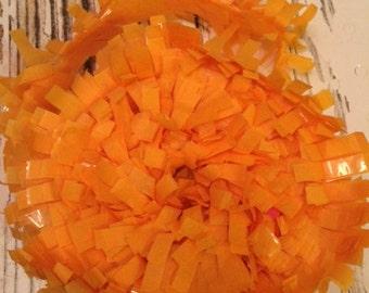 Tissue Paper Garland, Festooning, Tissue Festooning Garland, Paper Fringe, Gold  Festooning Tissue, 25 Feet