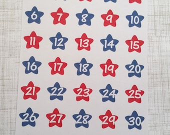 Star Spangled Date Covers (Set of 36) Item #248