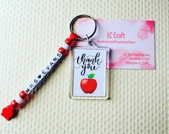 Teachers Gift Keyring