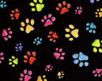 Rainbow Dog Gone Paws - Loralie Design - 1 Short Yard