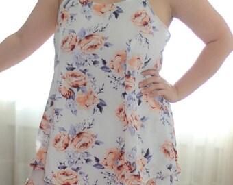 Camisado Cami PDF Sewing Pattern Tank Top Pattern Princess Seams Layering Piece camisole cami lingerie