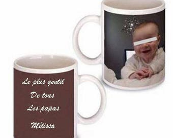 Fathers day mug with personalized