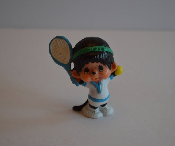 Monchhichi Tennis Player Figure
