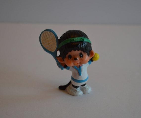 Monchhichi Tennis Player Figure