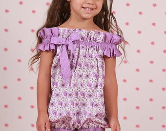 Pretty and Playful Romper with Headband