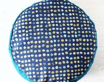 Get comfy... Blue Dot Organic Buckwheat Meditation Cushions