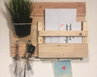 Door keys/mail Organizer