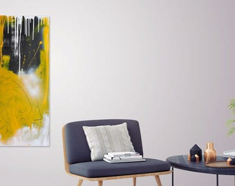 Inside Her Dreams : Original Abstract Painting contemporary