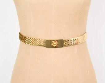 Gold Scale Belt | Elastic Belt