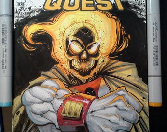 Space Ghost Rider Sketch Cover