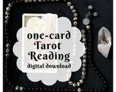 One-Card Custom Tarot Rea...