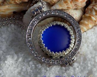 """eye of Ra"" pendant blue"