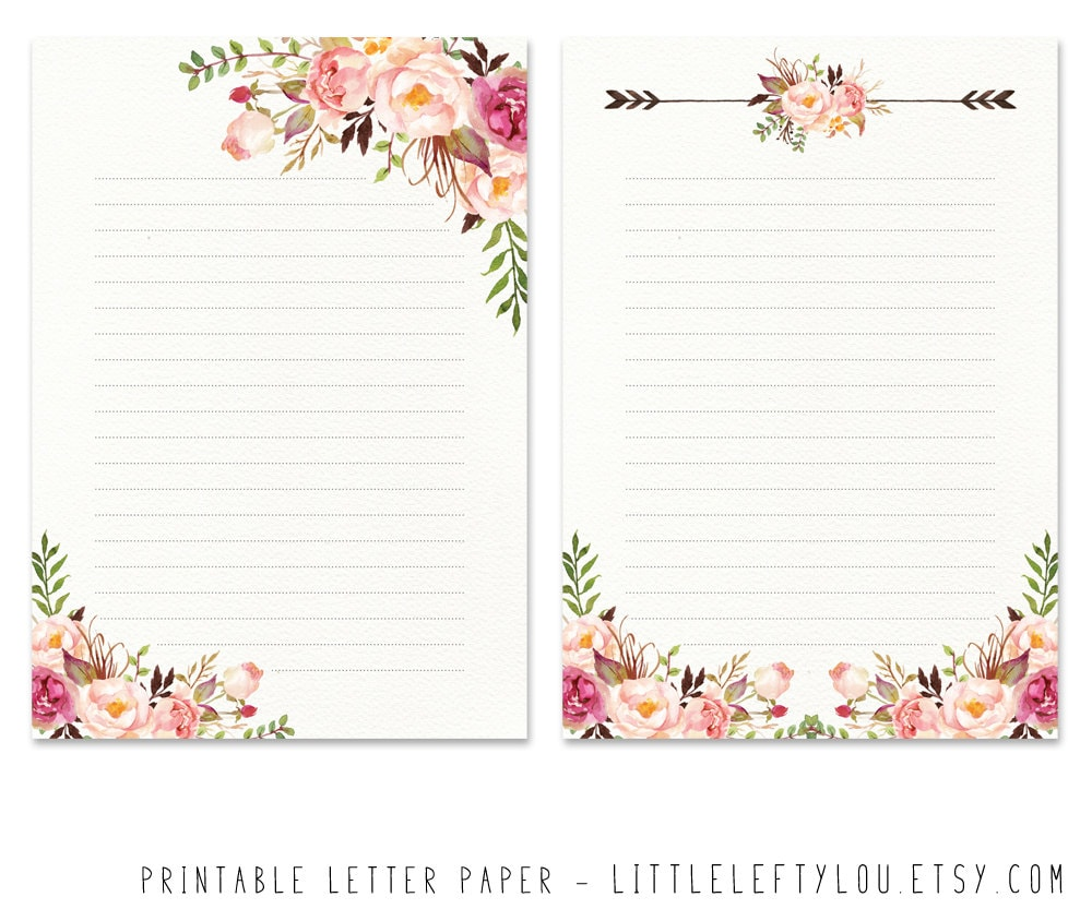 printable writing paper