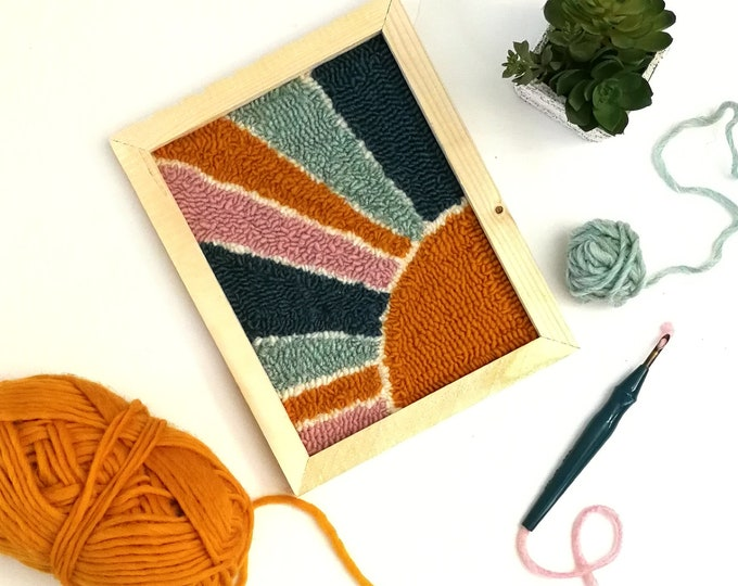 April 29: Intro to Punch Needle Workshop!