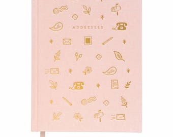 Blush Address Book by Rifle Paper Co