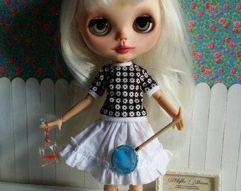 Fisch in eine Tasche für Blythe & Puppen