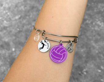 Volleyball Gifts, Volleyball Bracelet, Volleyball Player Gifts, Volleyball Players Bracelet, Volleyball Jewelry, Gift for Volleyball Player