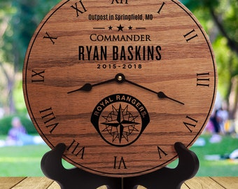 Personalized Royal Rangers Gift - Appreciation Gift - Outpost Leader - Commander - Thank You - Volunteer - Custom Name - Royal Rangers