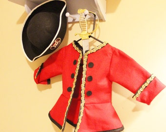 Pirate Costume. Captain Hook Costume. Pirate Coat. Captain Hook Jacket. Pirate Jacket!