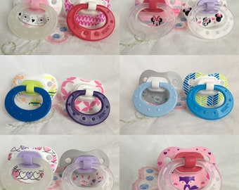 NUK modified adult pacifiers | ddlg abdl cgl