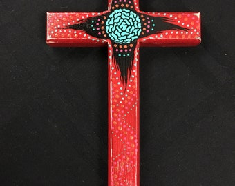 Red and Black Cross