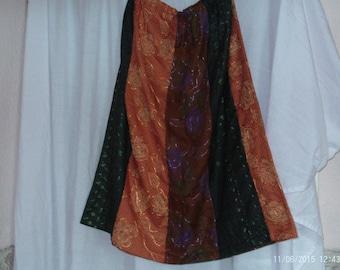 Drawstring Waist Skirt