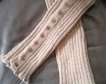 Hand Knitted Legwarmers