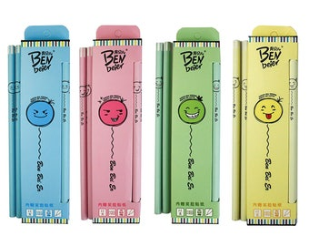 Faces Writing Pencils HB Set of 12