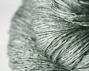 Burning haystack - Tussah Silk Lace Yarn - Hand Dyed Yarn - handgefärbte Wolle - DyeForYarn