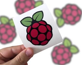Raspberry pi Sticker,   Raspberry pi Laptop Sticker,   Raspberry pi Car Sticker, Raspberry pi