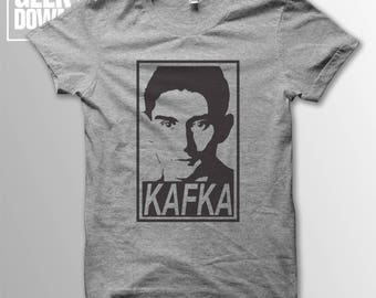 Franz Kafka *Obey* t-shirt tee // literary t-shirts / literary gifts / book lover gift / The Metamorphosis / The Trial / The Castle