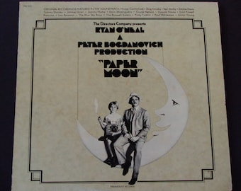 """Paper Moon - Ryan O'Neal - """"Let's Have Another Cup of Coffee"""" - Stage & Screen - Original Soundtrack Paramount 1973 - Vinyl LP Record Album"""