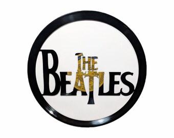 The Beatles Vinyl Record Art