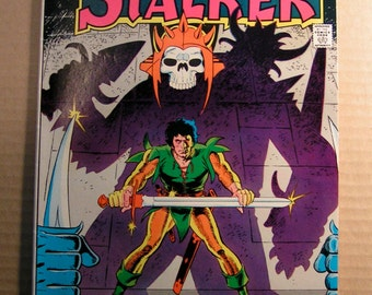 STALKER - 1-4 D C Comics 1975 The historic Team up of Steve Ditko and Wally Wood