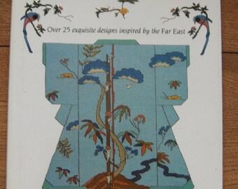 1999 cross stitch patterns Oriental cross stitch by Debbie Minton