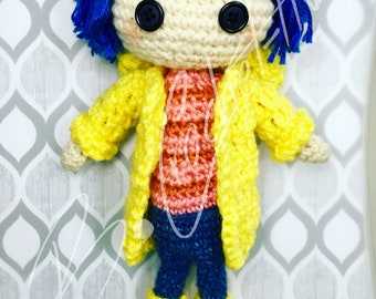 """The """"Other"""" Coraline Doll (Crochet PATTERN PDF ONLY)"""