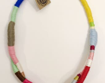 Rainbow Rope Necklace