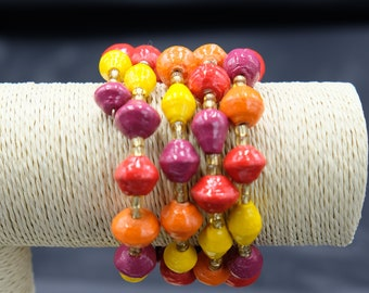 Women's Warm Color Spring Bracelet