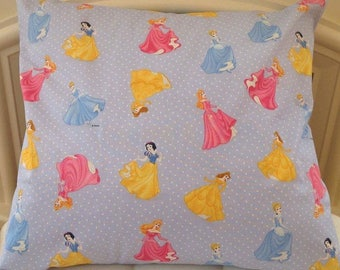 princess cinderella,Belle, sleeping beauty and Snow White print cushion cover