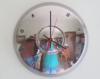 1962 Ford Fairlane Hubcap Clock - Item 2612