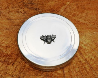 Bee Trinket Box English Pewter Ladies Gift
