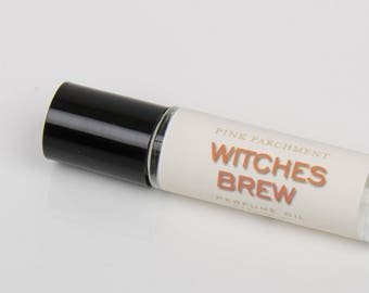 Witches Brew Perfume Oil - Patchouli Perfume Oil - Roll On Perfume