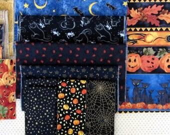 Halloween Fabric  -  Stash Reduction