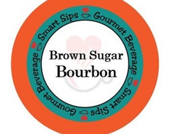 Brown Sugar Bourbon Gourmet Coffee, Compatible With All Keurig K-cup Machines, 24 Count